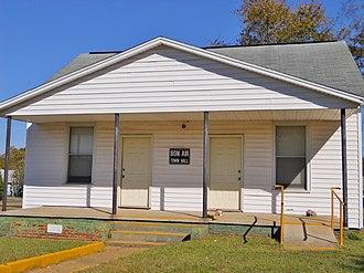 Bon Air, Alabama - Bon Air Town Hall