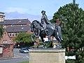 Bonnie Prince Charlie statue, Derby - geograph.org.uk - 641584.jpg