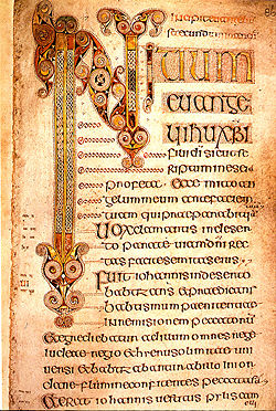 Book of Durrow, Gospel of Mark