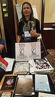 BookSwapping at Wikimania 2018 20180722 151806 (34).jpg