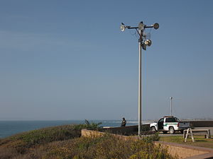 United States Border Patrol - Patrolling the beach in San Diego County, California