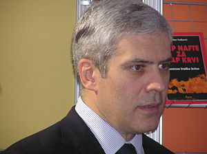 Boris Tadić - Boris Tadić at the 50th Belgrade Book Fair.