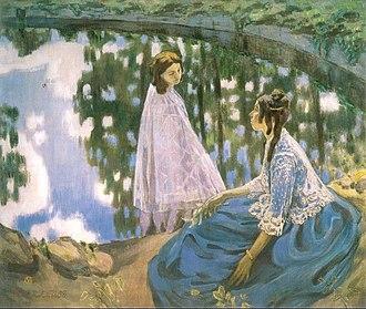 Victor Borisov-Musatov - The Pool. 1902