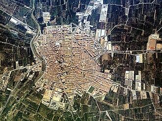 Borriana, Castellón - Image: Borrianadesdelaire