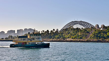 Borrowdale passing Barangaroo Reserve in 2018 Borrowdale, Millers Point, 2018 (01).jpg