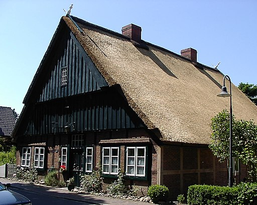 Borsfleth Alte Dorfschule v. 1683 Sommer 2005