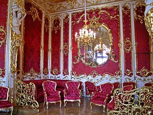 Boudoir - Boudoir of Empress Maria Alexandrovna in the Winter Palace at the State Hermitage (Saint Petersburg).