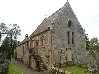Grisell Baillie - Bowden Church, Scottish Borders, where Lady Grisell Baillie was ordained as the first Deaconess in the Church of Scotland in 1888