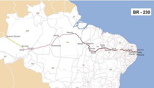 Route transamazonienne