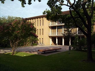 University of Dallas - The Braniff Graduate Center on the campus of the University of Dallas, one of the buildings designed by Texas architect O'Neil Ford.