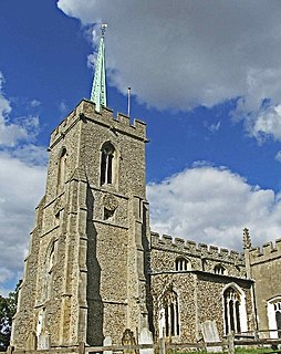 Hertfordshire spike Type of short spire or flèche