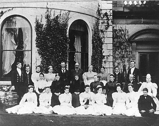 Brayton Hall In-house Servants circa 1890