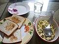 Breakfast of eggs and toast (6103428227).jpg