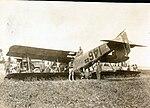 Breguet 14 E.2 trainer flipped on back from 96th Aero Sq Album.jpg