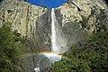 Bridalveil Falls (Yosemite Valley, Sierra Nevada Mountains, California, USA) 9 (19848610670).jpg