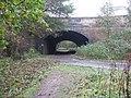 Bridge over the Waverley Line at Sheriffhall - geograph.org.uk - 1035602.jpg