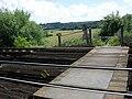 Bridleway crossing railway track - geograph.org.uk - 488372.jpg
