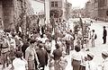 Brigada Miloša Zidanška se je vrnila s popotovanja po poteh partizanskega Pohorja v Maribor 1961 (2).jpg