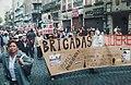 Brigadas Querétaro - Protesta contra reforma energética de Felipe Calderón - CDMX 2008.jpg