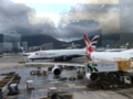 British airways at HKG.tif