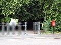 Broadstone, postbox No. BH18 220, Ridgeway - geograph.org.uk - 1398619.jpg