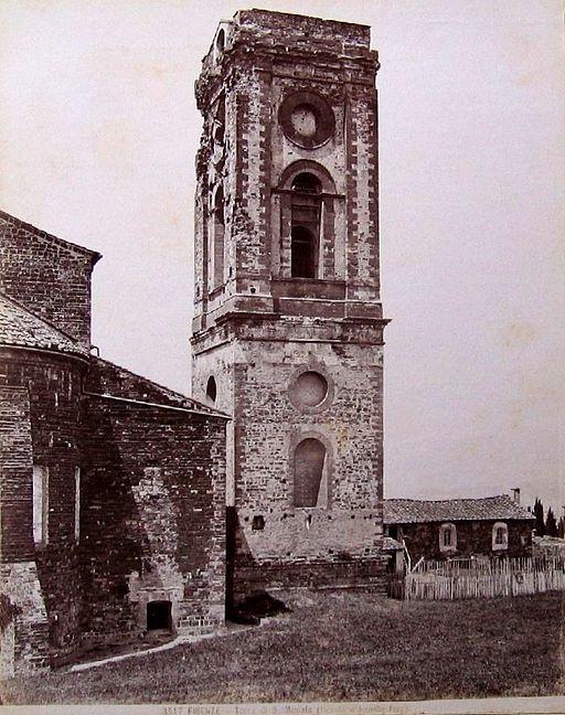 """Giacomo Brogi (1822-1881), """"Firenze - Torre di S. Miniato"""". Numero di catalogo: 3517"""