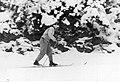 Bronisław Czech podczas treningu przed biegiem na dystansie 18 km Zakopane 1939-02.jpeg