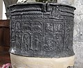 Brookland St Augustine's Church Lead Font 02.JPG
