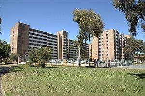 Bentley, Western Australia - Brownlie Towers A and B block in Bentley