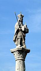 Sloup se sochou svatého Leopolda