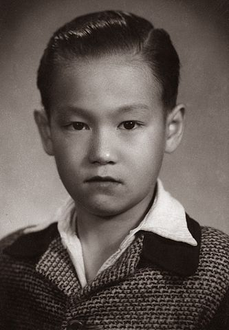 Bruce lee when he was a child.