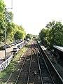 Brundall railway station - view SE from footbridge - geograph.org.uk - 1531817.jpg