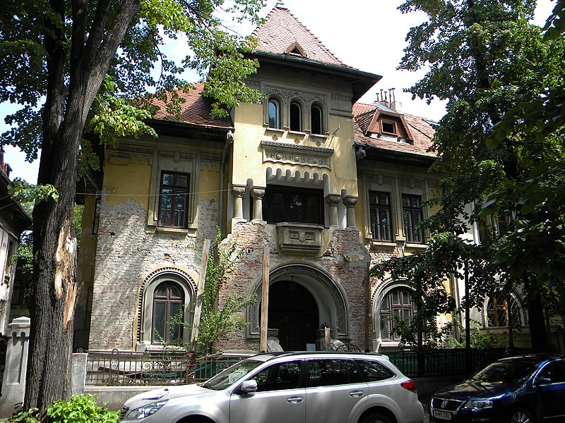 Fișier:Bucuresti, Romania, Str. Haga, Vila Nr. 9; B-II-m-B-18895.JPG