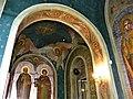 Bucuresti, Romania. BISERICA RUSA-Biserica Sf. Nicolae (B-II-m-A-18814) (pictura pe perete)(2).jpg