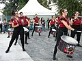 Bucuresti, Romania. Festivalul International de Teatru de Strada.13 Iulie- 5 August 2018. Formatia Batucada Timba (Spania) (7).jpg