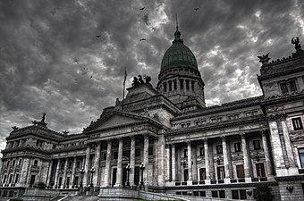 Buenos Aires - Palacio del Congreso de la Naci%C3%B3n Argentina -HDR- 1