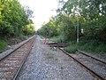 Buffers, railway line near Calvert - geograph.org.uk - 502296.jpg