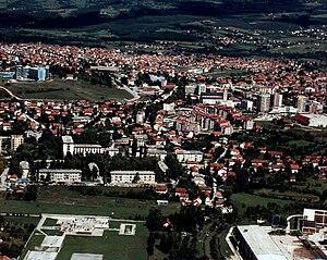 Bugojno - Image: Bugojno panorama grada (1996)