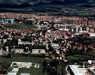 Town and municipality in Federation of Bosnia and Herzegovina, Bosnia and Herzegovina