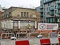 Building on stilts, Bolsover Street - geograph.org.uk - 2285111.jpg