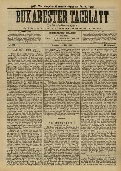 File:Bukarester Tagblatt 1890-05-11, nr. 105.pdf