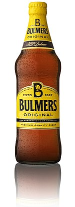 Bulmers Original Cider Bottle