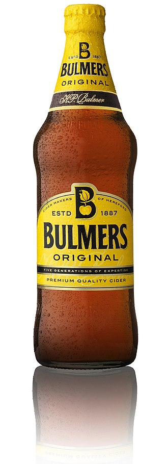 Bulmers - Bulmers Original Cider bottle from 2011