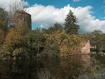 West side of Burgsinn Castle