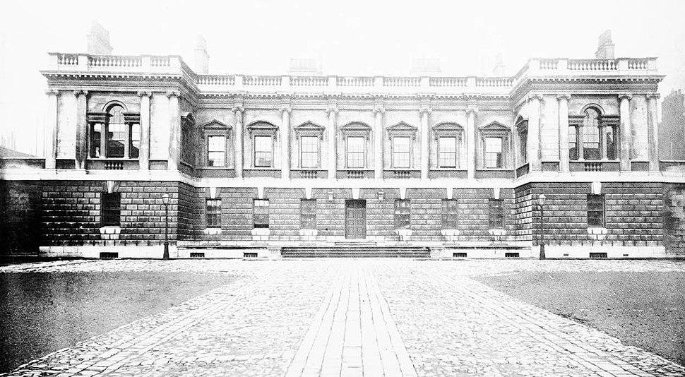 Burlington House South Front edited