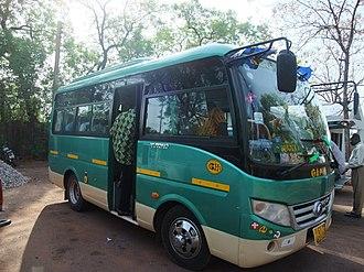Tamale, Ghana - Bus rapid transit in Tamale