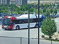 Bus at Lehi station, Jul 16.jpg