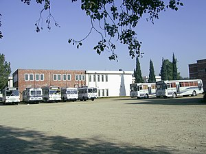 University of Engineering and Technology, Taxila - Buses of University