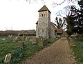 Bush End, Essex, England ~ St John Evangelist exterior ~ from west 02.jpg