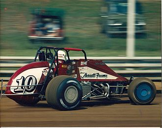 United States Auto Club - 1988 Steve Butler Silver Crown car